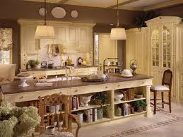 photos french country kitchen decor designs. awesome light cream style kitchen island design combine brown furnished wooden upper also photos french country decor designs c
