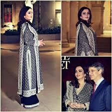 Nita Shah Designer Nita Ambani In Tarun Tahiliani Indian Outfits Clothes For