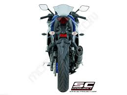 yamaha r3. oval exhaust by sc-project yamaha / yzf-r3 2017 r3 u