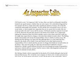 inspector calls essay help an inspector calls essay help