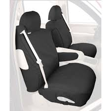 covercraft front seat cover seatsaver charcoal pair for bucket seats chevrolet silverado gmc sierra 2017