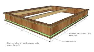 full size storage bed plans. Full Size Platform Bed Plans King Storage