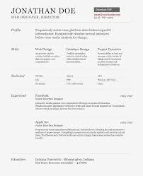 resume web designer