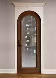 modern decoration wood and glass interior doors interior door custom single solid wood with walnut finish