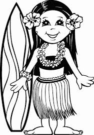 Small Picture Printable Pictures Hawaiian Coloring Pages 66 In Coloring Print
