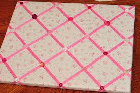 Memo Board With Ribbon How to Make a Ribbon Memo Board Sippy Cup Mom 4