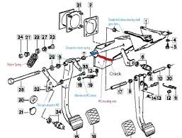 Fig exploded view of master cylinder array ford brake master cylinder diagram clutch pedal bracket and master rh diagramchartwiki