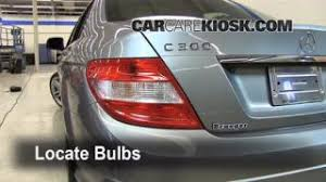 interior fuse box location mercedes benz c  brake light change 2008 2015 mercedes benz c300