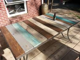 Patio Table-Top Redo With Pallet Wood