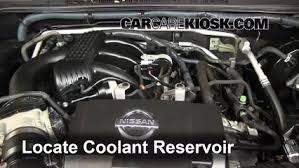 coolant level check 2005 2015 xterra 2011 nissan xterra s 4 0l v6 coolant level check 2005 2015 xterra