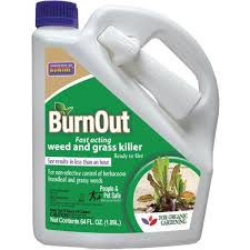It prevents and removes broadleaf weeds and grasses without dangerous residue. Unbranded 1 2 Gal Burnout Weed And Grass Killer Rtu 74912 The Home Depot