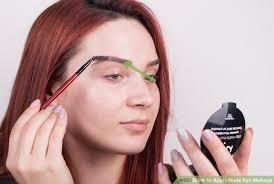 image led apply eye makeup step 2