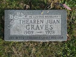 Photos of Thearen Juan Graves - Find A Grave Memorial