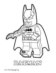 Small Picture The Lego Movie Batman a Lego superhero coloring page Coloring
