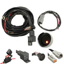 40a relay 300cm wiring harness kit on off switch for led spot 40a relay 300cm wiring harness kit on off switch for led spot lightts work fog light