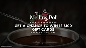 fonduesurvey take the melting point survey win 12 gift cards worth 100