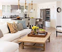 arranging furniture with a corner