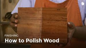 how to polish wood woodworking