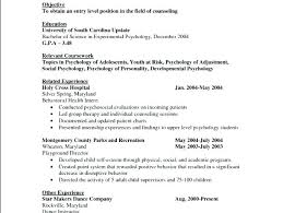 psychology resume examples sample psychology resume simple sample resume for fresh psychology