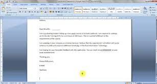 Ms Word 2007 In Tamil 06 Formatting A Letter Youtube