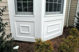 installing exterior window trim over siding replacing exterior window trim bay window replacement by monks basking