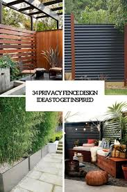 privacy fence design. 34 Privacy Fence Design Ideas To Get Inspired Privacy Fence Design