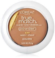 l oreal paris true match powder deep warm 0 33 ounces