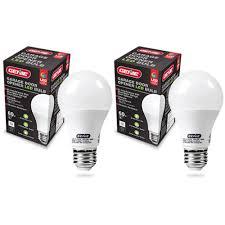 genie ledb1 r led garage door opener bulb 2 pack preferred doors