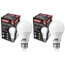 genie ledb1 r led garage door opener bulb 2 pack preferred doors