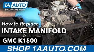 All Chevy 97 chevy k1500 parts : How to Replace Intake Manifold Gaskets on a 1996 GMC Sierra K1500 ...