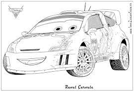 Coloriages Cars 2 Raoul Aroule Cars 2 Coloriages Les Bagnoles 2