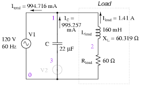 calculating power factor power factor electronics textbook how to install power factor correction capacitors at Power Factor Correction Capacitor Wiring Diagram