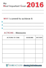Free Goal Tracker Template Slipcc Co