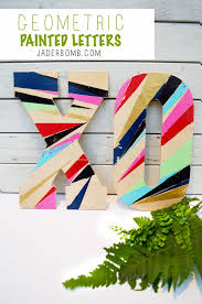 tag archives painted wooden letters