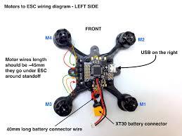 flexrc pico core motors wiring diagram flex rc motors to esc connection diagram left