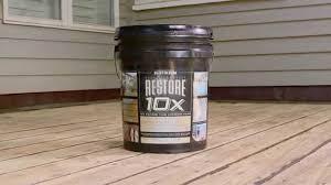Rustoleum 4x Color Chart Restore Deck Concrete Restore 4x Tips For Wood Surfaces