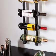 wall mounted wine bottle rack. Throughout Wall Mounted Wine Bottle Rack