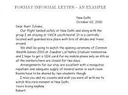 sample informal letter format sample informal letter an examples of informal essay