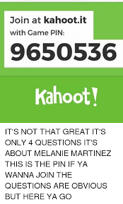 kahoot memes and join at kahoot it with game pin 9650536