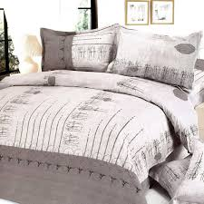 beige autumn 100 cotton 5pc bed in a bag twin size