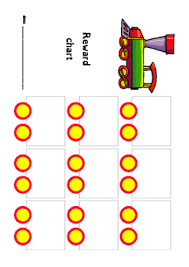 Reward Chart Train Theme By Earlyyearsfunstuff Tpt