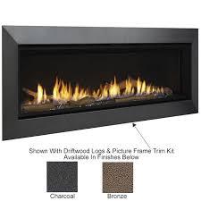 echelon ii 48 wide view fireplace by majestic