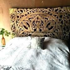carved wood headboard carved wood headboard hand crafted wooden bed panel king headboards designs carvings boho carved wood headboard