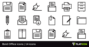 Bold Office Icons 14 Free Icons Svg Eps Psd Png Files