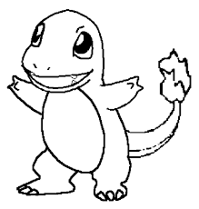 Charmander Printable Coloring Pages Color Bros