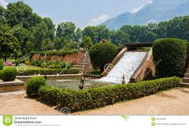Small Picture Nishat Bagh Garden Water Fountain Decor Stock Photo Image 42158499