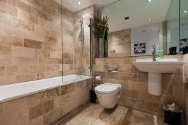 apartment bathrooms. Bathroom Apartment Wall Mounted Sink Arched Faucet Natural Stone Bathrooms R