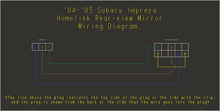 subaru homelink mirror wiring diagram subaru wiring diagrams