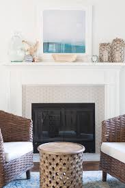 fireplace paint using high heat paint for a fireplace makeover