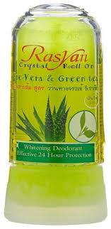 <b>RASYAN дезодорант</b>, кристалл (минерал), Aloe-Vera & Green tea ...